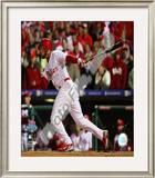 Pedro Feliz Game 5 of the 2008 World Series Framed Photographic Print