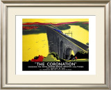 The Coronation, LNER Poster, 1923-1947 Framed Giclee Print by Tom Purvis