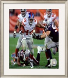 Ahmad Bradshaw - Super Bowl XLII Framed Photographic Print