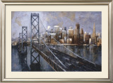 The Bay Bridge Art by Marti Bofarull