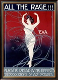 Eva, All the Rage Framed Giclee Print by Mario Borgoni