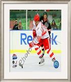 Henrik Zetterberg 2008-09 NHL Winter Classic Framed Photographic Print