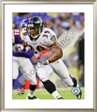 Ray Rice 2008 Rushing Framed Photographic Print
