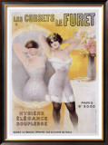 Corsets le Furet Framed Giclee Print by  Noury