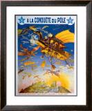 Melies a la Conquete du Pole Framed Giclee Print