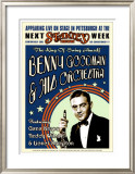 Benny Goodman Orchestra at the Stanley Theatre, Pittsburgh, Pennsylvania, 1936 Prints by Dennis Loren