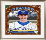 Robin Yount Framed Photographic Print