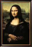 Mona Lisa Print by Leonardo da Vinci 