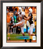Robert Meachem University of Tennessee Volunteers; 2007 Action Framed Photographic Print