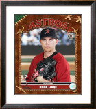 Brad Lidge Framed Photographic Print