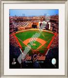 Opening Day of Shea Stadium April 17, 1964 With Overlay Framed Photographic Print