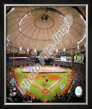 Tropicana Field Game one of the 2008 MLB World Series Framed Photographic Print