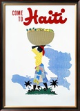 Come to Haiti Framed Giclee Print by E. Lafond