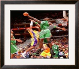 Kevin Garnett, Game 4 of the 2008 NBA Finals Framed Photographic Print