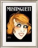 Mistinguett Framed Giclee Print by  Orsi