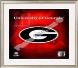 2008 University of Georgia Team Logo Framed Photographic Print