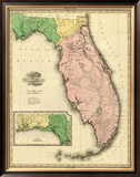 Florida, c.1823 Framed Giclee Print by Henry S. Tanner