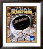 2007 Anaheim Ducks Framed Photographic Print