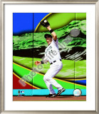 Josh Willingham 2008 Fielding Action Framed Photographic Print