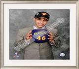 Stephen Curry 2009 NBA Draft 7 Pick Framed Photographic Print