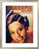 Josephine Baker, Bakerfix Framed Giclee Print