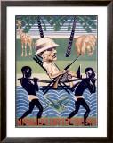 Na Beregakh Rovumi, on the Shores of the Ruvuma Framed Giclee Print by  Kuzkovsky