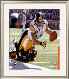 Hines Ward Framed Photographic Print