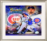 Geovanny Soto 2008 National League Rookie Of The Year Framed Photographic Print