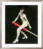 Fourth of July Rocket Girl, c.1925 Framed Giclee Print