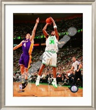 Paul Pierce, Game 1 of the 2008 NBA Finals; Action 2 Framed Photographic Print
