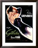 Gilda Framed Giclee Print