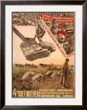 Stroite Socialisticheskij Birobidzhan Framed Giclee Print by Mikhail O. Dlugach