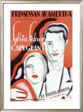 Princessan av Amerika Framed Giclee Print