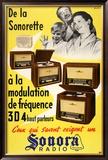 Sonora Radio - De La Sonorette Posters by  Arestein