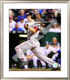 Jason Bay 2008 Batting Action Framed Photographic Print
