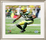 Charles Woodson 2009 Framed Photographic Print