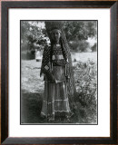 Sioux Maiden Art by Edward S. Curtis