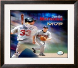 Justin Morneau Framed Photographic Print