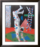 Harlequin from Parade, 1981 (93) Limited Edition Framed Print by David Hockney