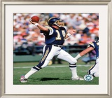 Dan Fouts Framed Photographic Print