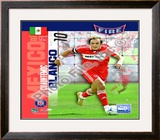 Cuathemoc Blanco 2008 International Series (74) Framed Photographic Print