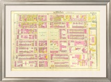 Boston: Wards 9, c.12, c.1895 Framed Giclee Print by George Washington Bromley