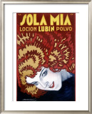 Sola Mia Movie Framed Giclee Print by Achille Luciano Mauzan