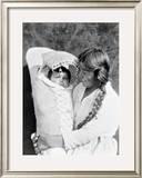 Madre e hijo Lámina giclée enmarcada por Edward S. Curtis