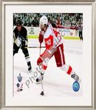 Henrik Zetterberg, Game 4 Action of the 2008 NHL Stanley Cup Finals Framed Photographic Print