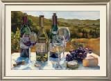 A Wine Tasting Prints by Marilyn Hageman