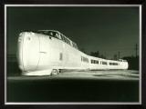 Bullet Train Engine Framed Giclee Print
