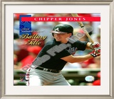 Chipper Jones 2008 National League Batting Title Framed Photographic Print