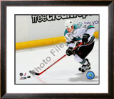 Jonathan Cheechoo 2007-08 Away Action Framed Photographic Print