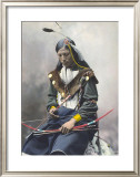 Native American Bow Prints by Ernst Heyn